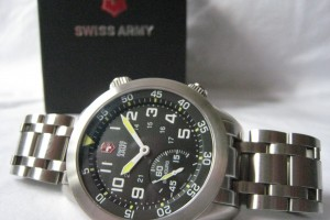We sold this Swiss Army Air Boss Mach 4 XL mechanical watch for $400!