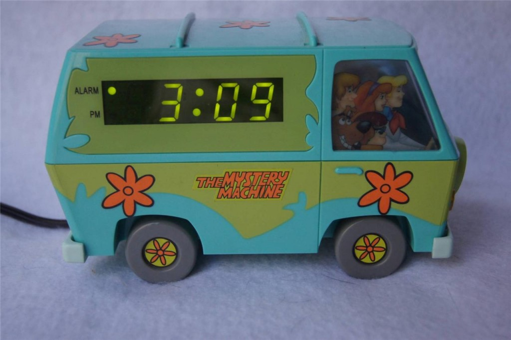 Scooby Doo Mystery Machine Honking Van Digital Alarm Clock